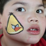 Lulu Pop Face Painting Angry Birds