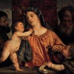 Madonna The Cherries Titian Wikipaintings