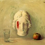 Magritte Rene Memory Canvas Painting For Sale