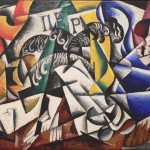 Malevitch Cubist Painting Giclee Art Reproduction Stretched