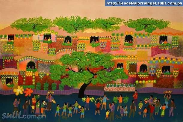 Manuel Baldemor Paintings For Sale Brand New Philippines