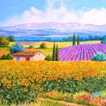 Marc Janiaczyk Art Painting The Beautiful French Landscape