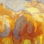 Marc Large Lenggries Horse Paintings For Sale Oil
