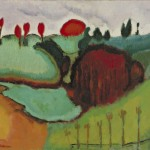 Marcel Duchamp Landscape Paintings