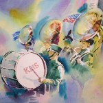 Marching Band Watercolor Painting All Things Music