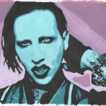 Marilyn Manson Pumapounce Fan Art Traditional Paintings Other