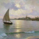 Marine Oil Paintings Guillermo Gomez Gil