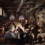 Marriage Cana Tintoretto Wikipaintings