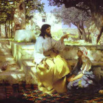 Martha Mary Lazarus And Jesus Famous Bible Paintings Artworks
