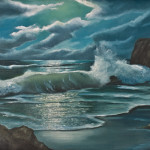 Maryken Art Ocean Evening Tide