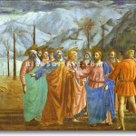 Masaccio Canvas Art Oil Painting Reproduction Commission Pop