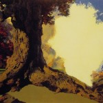 Maxfield Parrish Paintings Dreaming October