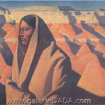 Maynard Dixon Earth Knower Fine Art Reproduction Oil Painting