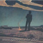 Maynard Dixon Roadside Fine Art Reproduction Oil Painting