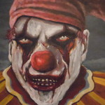 Meat Clown Painting James Guentner Fine Art Prints And