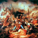 Medieval Battle Painting Pictures