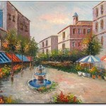 Mediterranean Cheap Oil Paintings Cheapoilpaintings