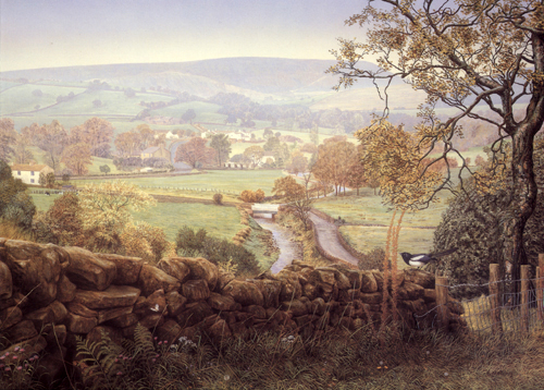 Melling Prints From Paintings Around Pendle Hill