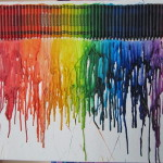 Melted Crayon Art Version Anastasia Cut Out Keep