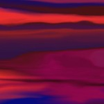 Melted Landscape Digital Painting Abstract