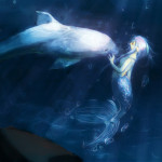 Mermaids And Dolphins Tosiri Deviantart