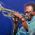 Miles Davis Painting Arie Rommers Flickr Sharing