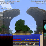 Minecraft Custom Map Tryzon Fan Art Digital Dimensional