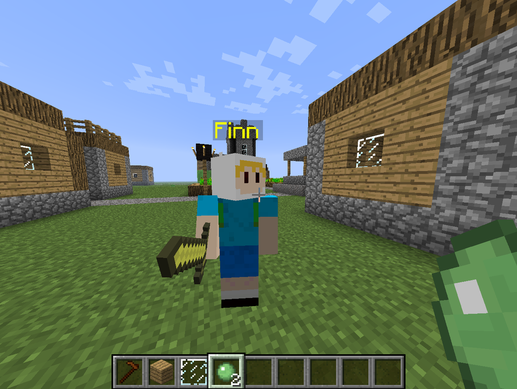 Minecraft Custom Mod Finn The Game Gumwin