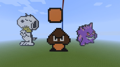 Minecraft Pixel Art Fan