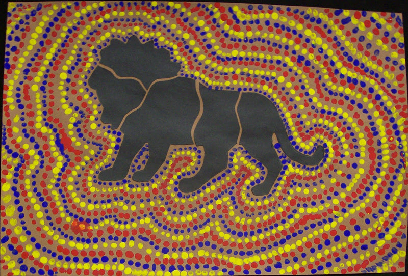 Mmsart Blogspot Australian Aboriginal Dot Paintings Html