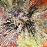 Modern Abstract Art Contemporay Explosions