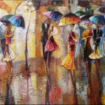 Modern Abstract Painting China Decoration Oil