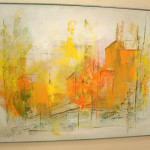 Modern Art Abstract Landscape Painting Harry Day Essex Item