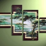 Modern Landscape Painting China Group Paintings