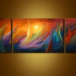 Modern Waves Painting Abstract And Art