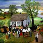 Morning Day The Farm Grandma Moses Wikipaintings