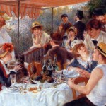 Most Famous Paintings The World Luncheon Boating Party