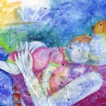 Mother And Mixed Media Painting Beth Parker Art Blog