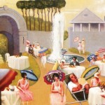Motley Archibald Lawn Party Canvas Painting For Sale