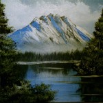 Mountains Scenes Gallery Art For Sale Mountain Solitude