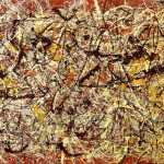 Mural Indian Red Ground Jackson Pollock Wikipaintings