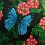 Murals Emily Staheli Blue Butterfly