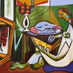 Muse Pablo Picasso Painting Reproduction