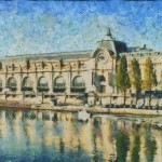Musee Orsay Painting Aaron Stokes Fine Art Prints