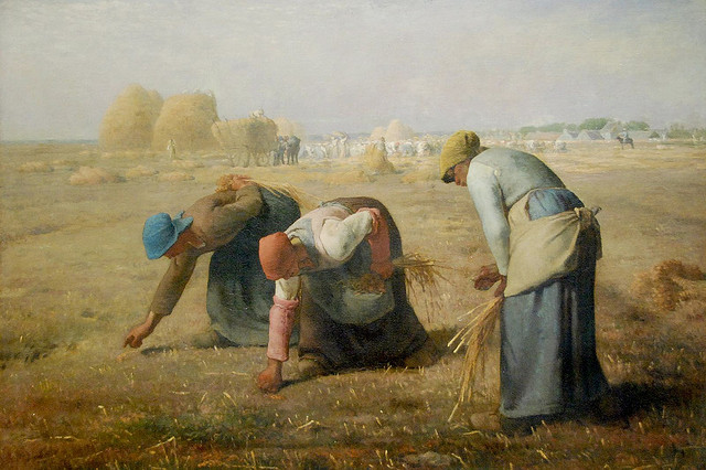 Musee Orsay The Gleaners Jean Francois Millet Flickr