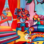 Music Post Art Peter Max Pop