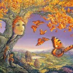 Mystical Fantasy Paintings Butterfly
