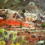 Navajo Country Painting Donald Maier Fine Art