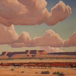 Navajo Painted The Year Before His Death Those Clouds Again