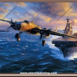 Navy Wwii Oil Painting Reproduction Wholesale